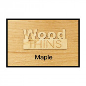 Maple Wood Thins (5 Pack)