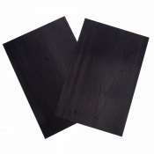 Sauers & Co Dyed Black Wood Veneer