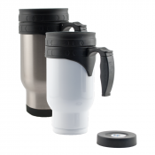 Stainless Steel Travel Mug with Insert
