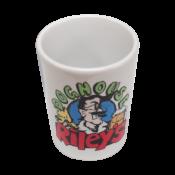Rhinocoat White 2oz Shot Glass (6/Pkg)