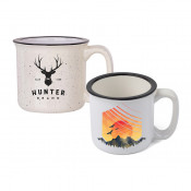 13oz Ceramic Camp-Style Mug