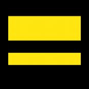 Rowmark LaserGloss Exterior Yellow/Black Engraving Plastic