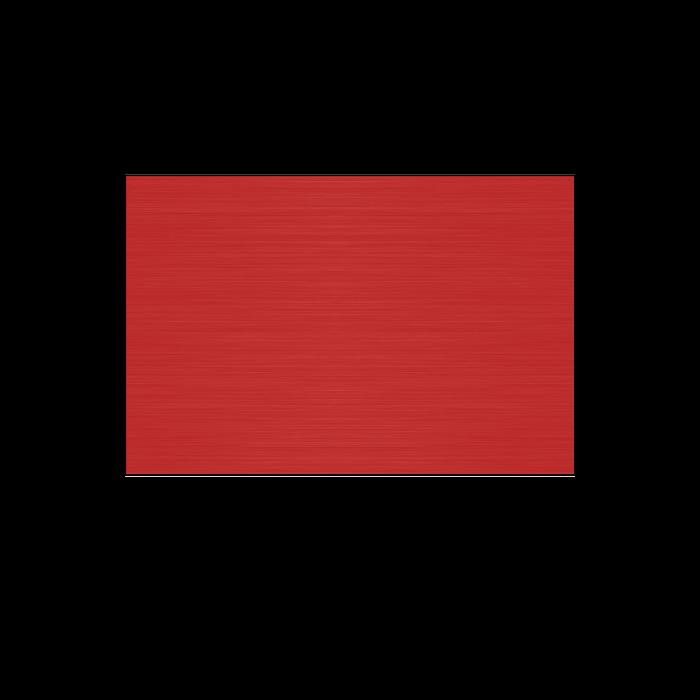 Satin Red .020 Anodized Aluminum Sheet