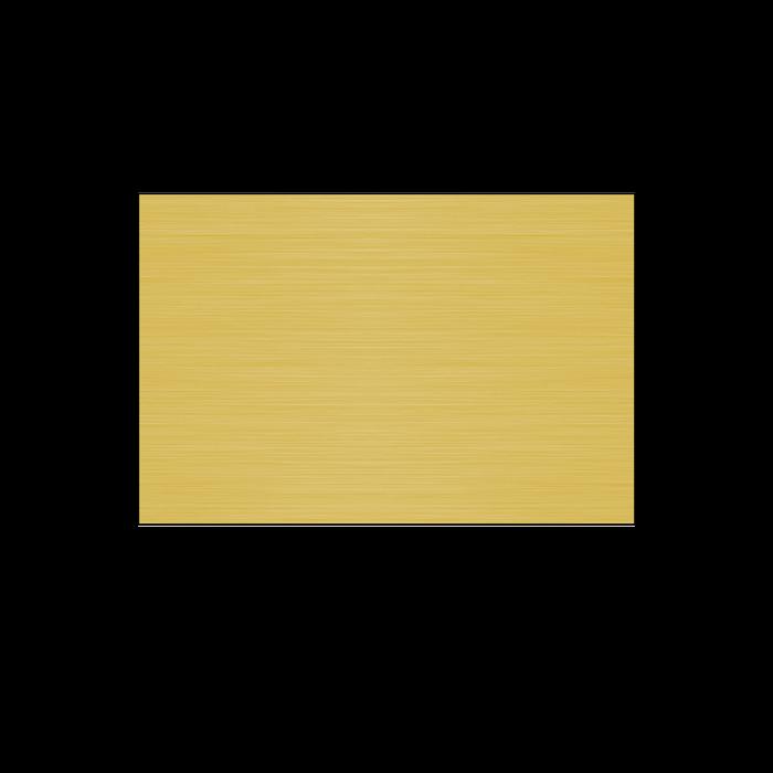Satin Gold .025 Lacquered Aluminum Sheet