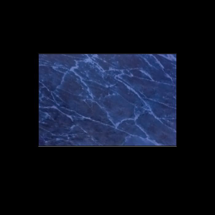 Blue Marble .016 Brass Sheet