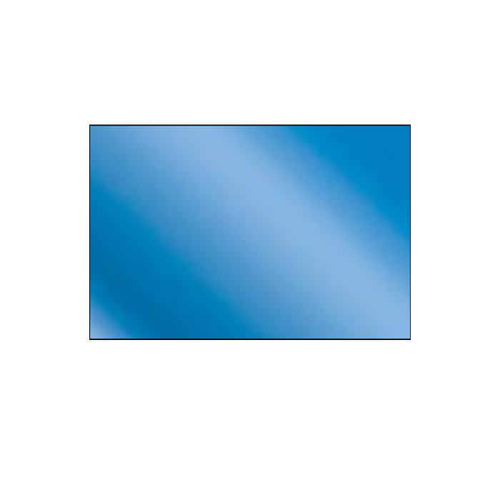 Gloss Blue .020 Brass Sheet