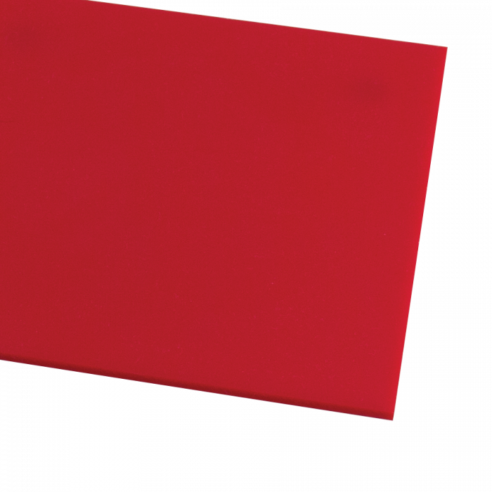 Rowmark ColorHues Scarlet 1/8