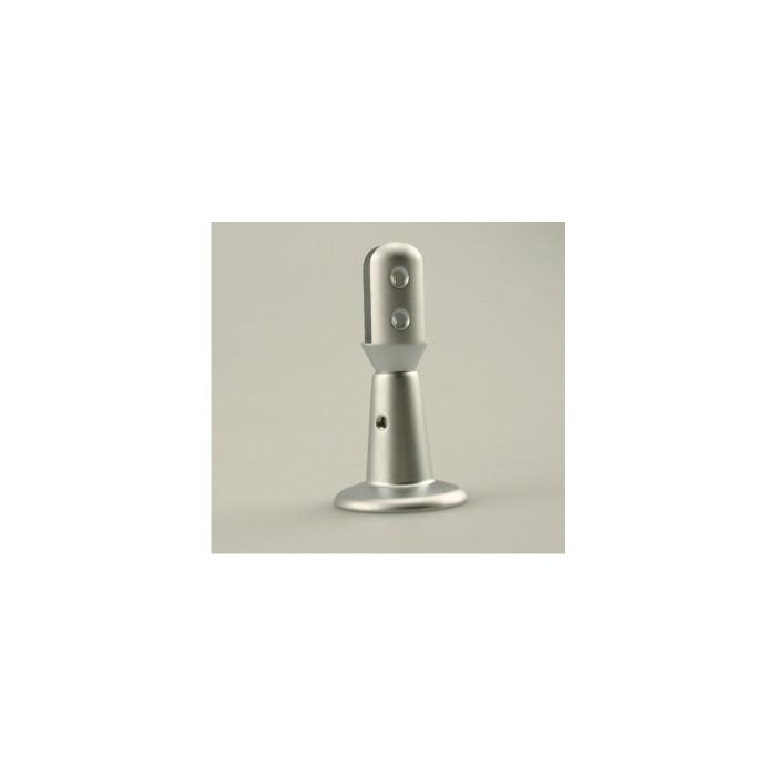 Rowmark Fisso UniPlus Satin Silver Mounting Fixture
