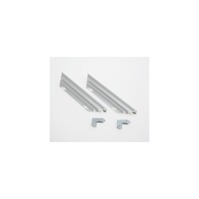 Rowmark Streamline 200 Anodized Silver 3