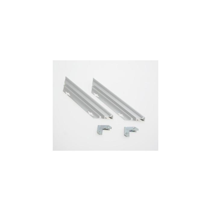 Rowmark Streamline 200 Anodized Silver 18