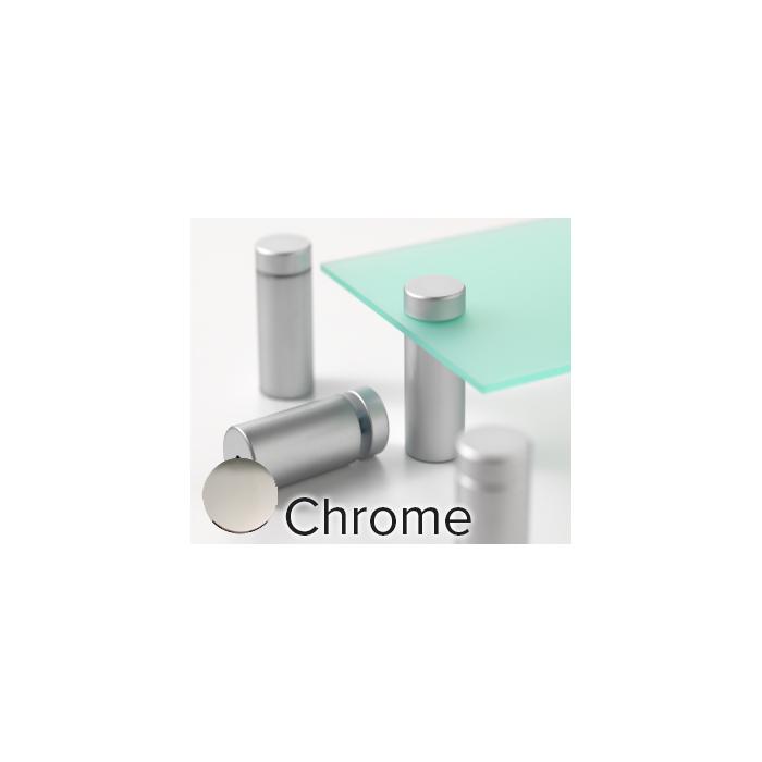 Rowmark Metro Chrome Stand-Offs (.98