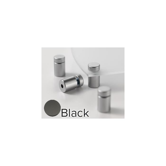BLACK D.59 L.71 SINGLE PL >>>> METRO STAND-OFFS (4/PKG) CLEARPATH SINGLE PANEL