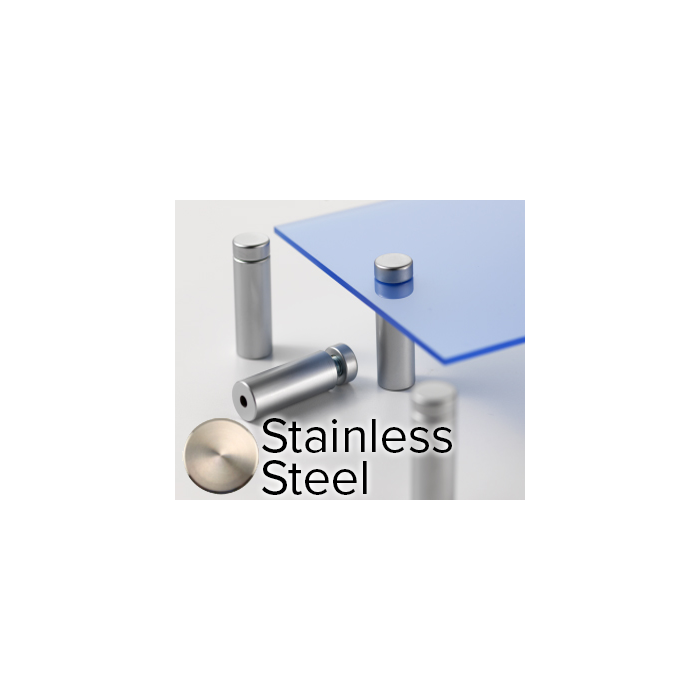 Rowmark Elite Stainless Steel StandOffs (.59
