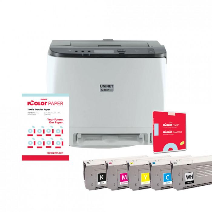 iColor 560 Digital Color + White Media Transfer Printer + ProRIP & SmartCUT