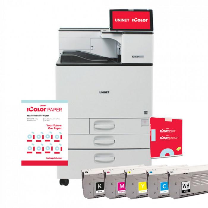 iCOLOR 800 DIGITAL PRINTER COLOR + WHITE 120V PRINTER INCLUDES PRORIP & SMARTCUT