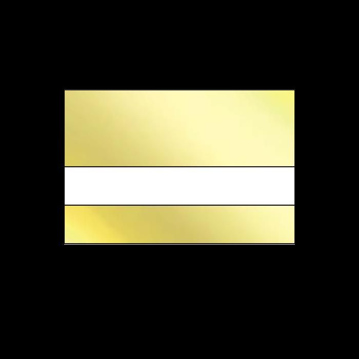 LAMA Bright Gold .020 Anodized Mirrored Aluminum