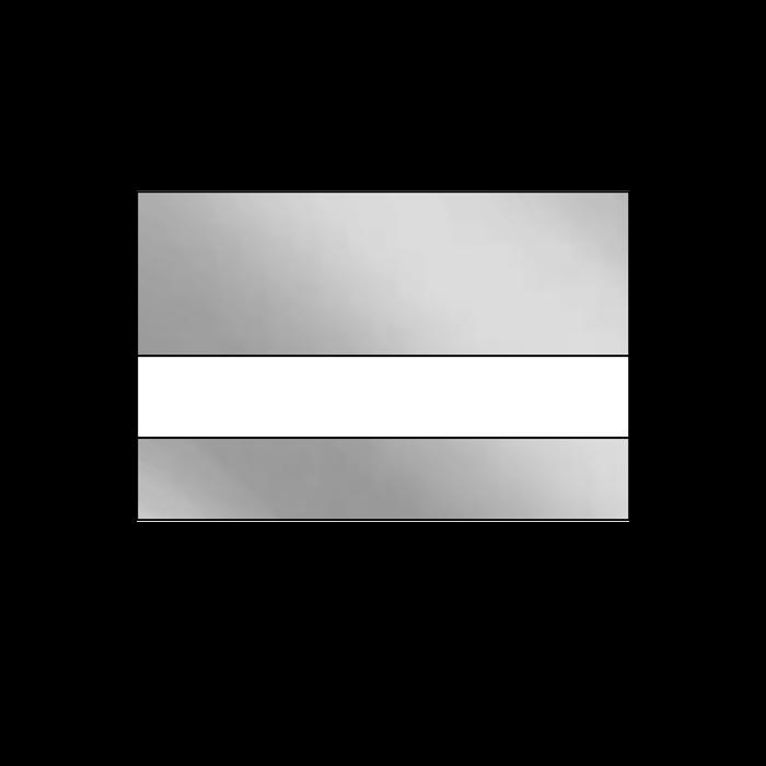 LAMA Bright Silver .020 Anodized Mirrored Aluminum