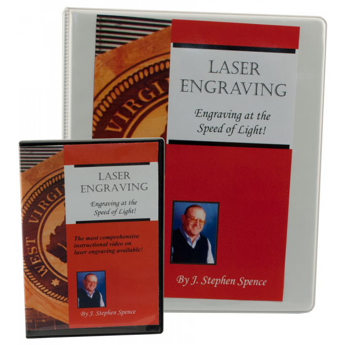 Engraving at the Speed of Light DVD & Manual for Laser Engraving Training