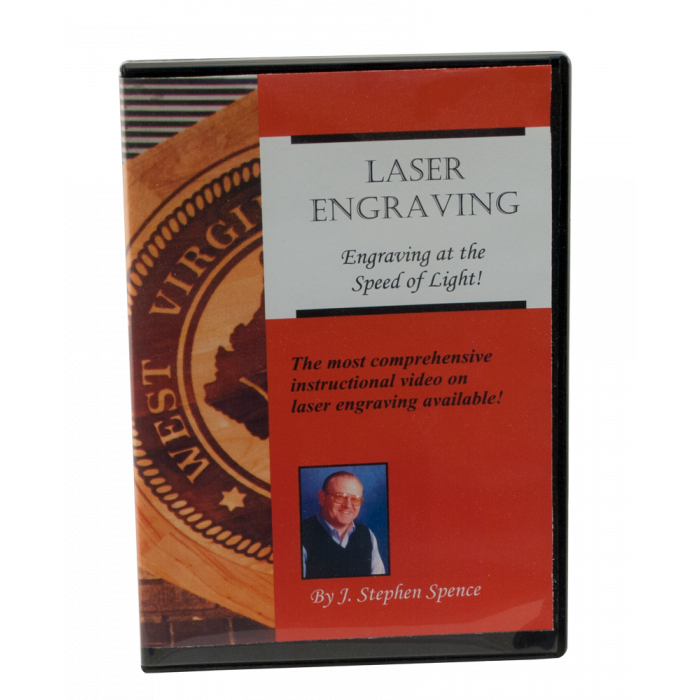 Engraving at the Speed of Light DVD for Laser Engraving Training