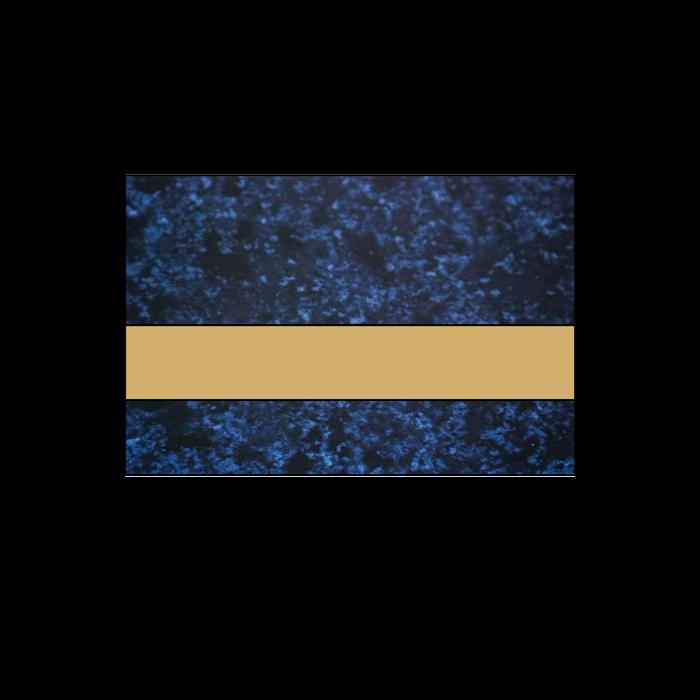 Rowmark LaserMax Celestial Blue/Gold 1/16
