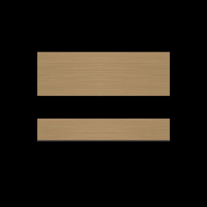 Rowmark DigiMark OSi Brushed Copper/Black 1/16