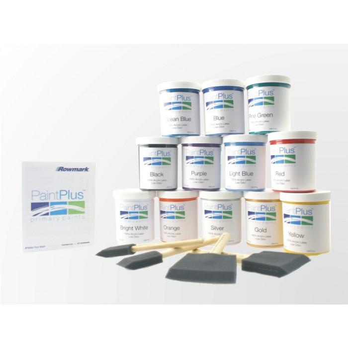 Rowmark PaintPlus Primary Paint 8oz Kit