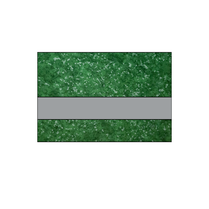 IPI Architectural Stones Gloss Verde Green Marble/Pewter 1/16