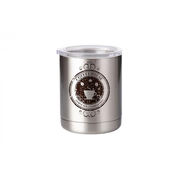 10oz Stainless Steel Short Tumbler