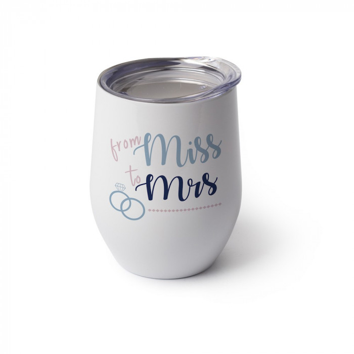 Stemless Wine Glass With Lid