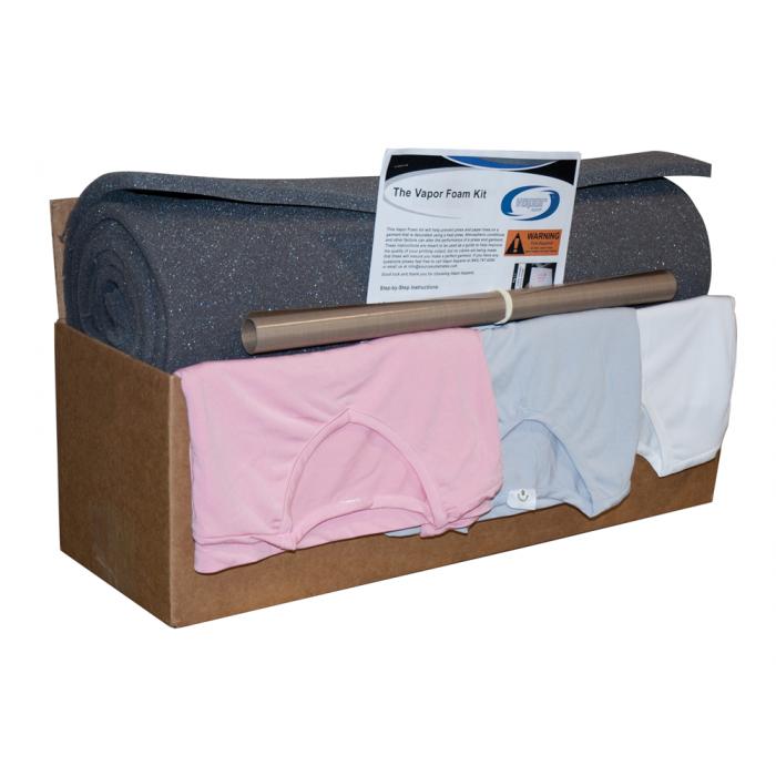 Vapor Apparel Foam Kit with Non-Stick Sheet