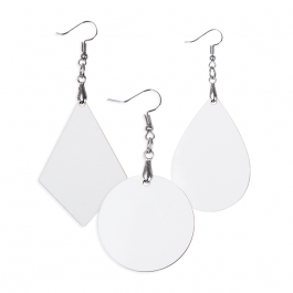 10 sets of Barrel Earrings for sublimation mdf hardboard