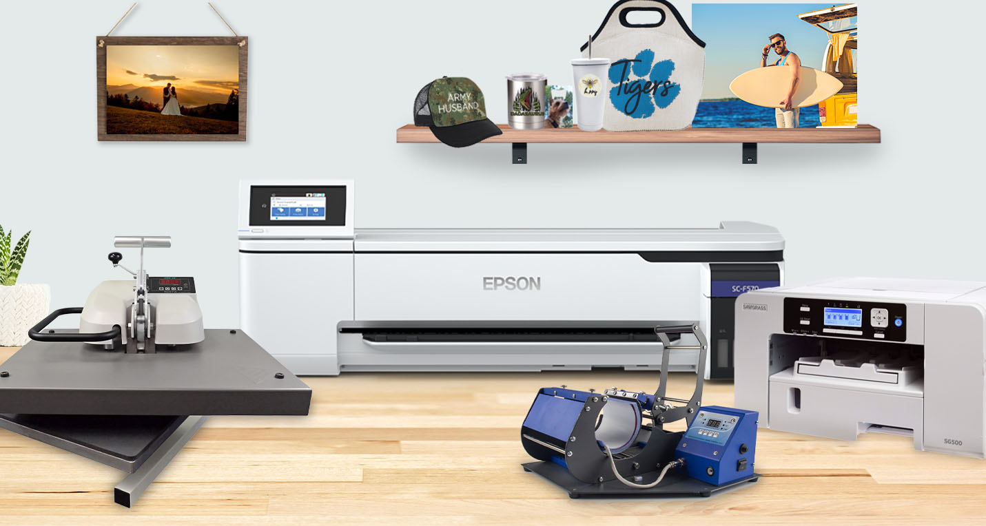 Epson F570 & SG500 Sublimation Printers