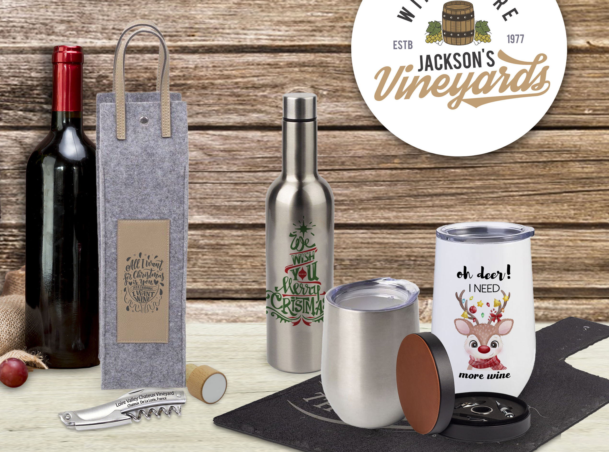 Top 15 Customizable Gifts for Wine Lovers