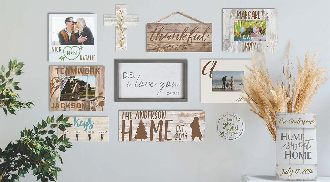 Personalized Holiday Gifts for the Home