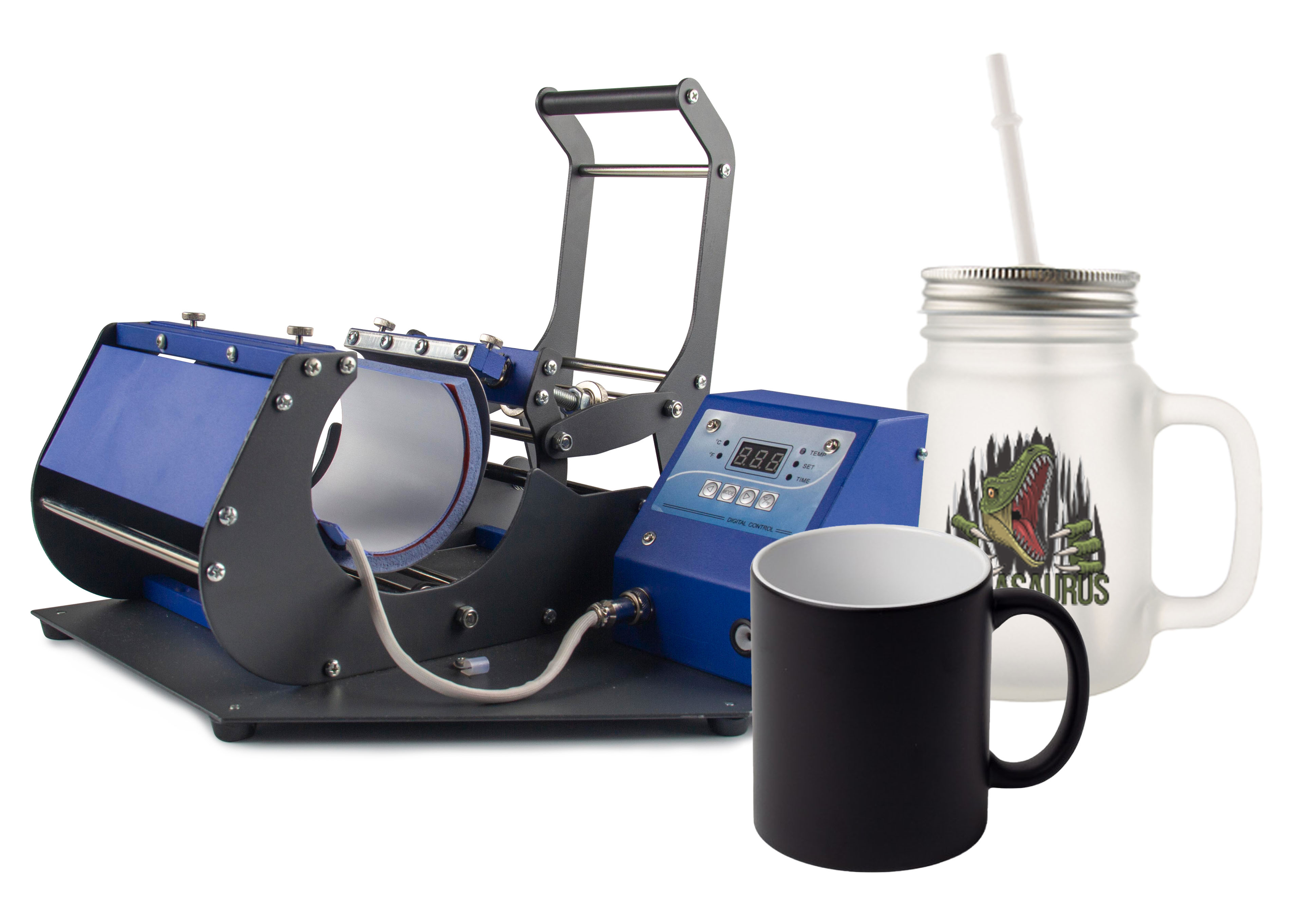 JP450 Mug Press with Drinkware