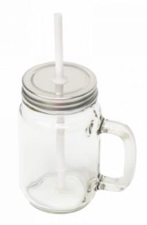 Clear Glass Mason Jar
