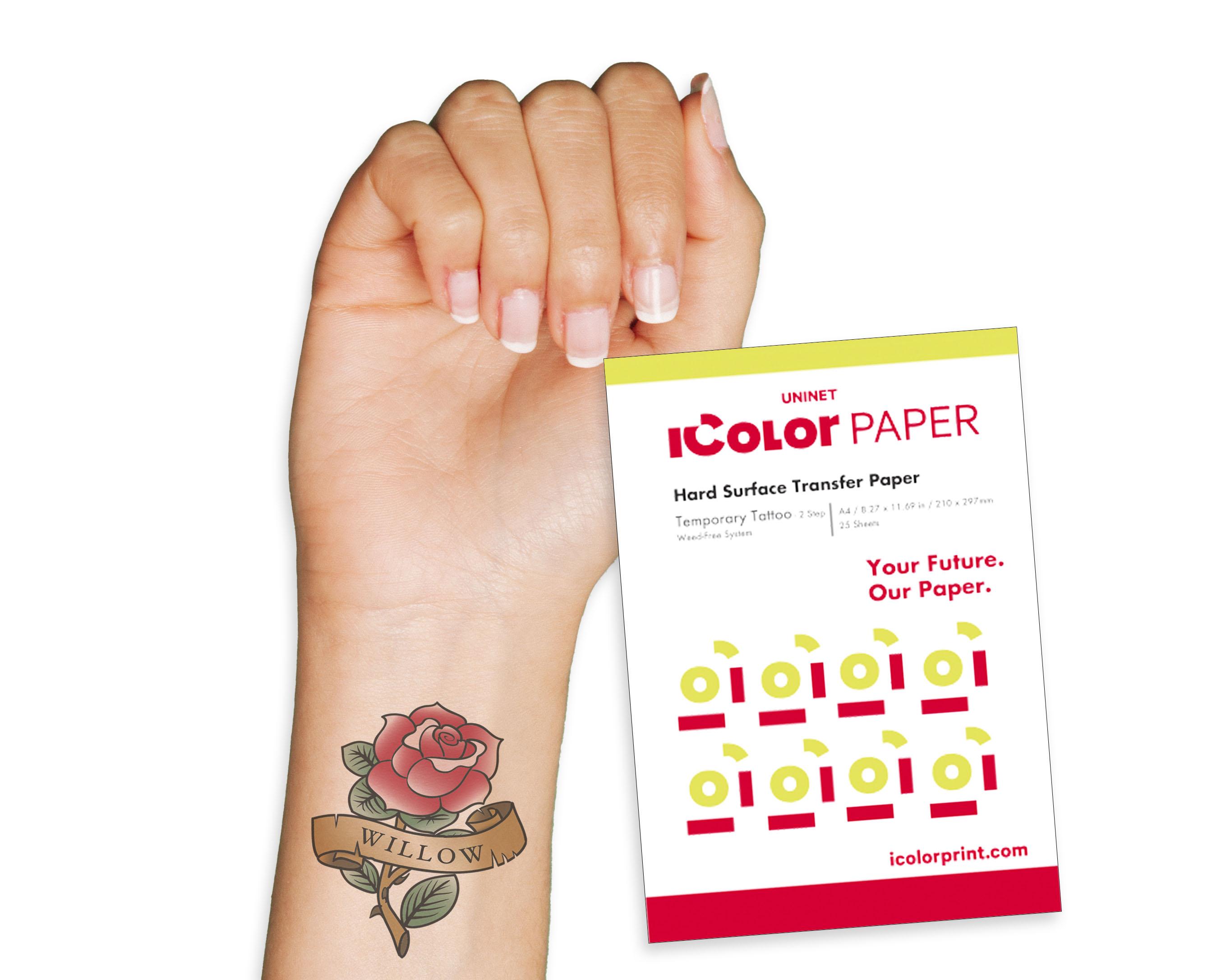 iColor Tattoo Transfer media